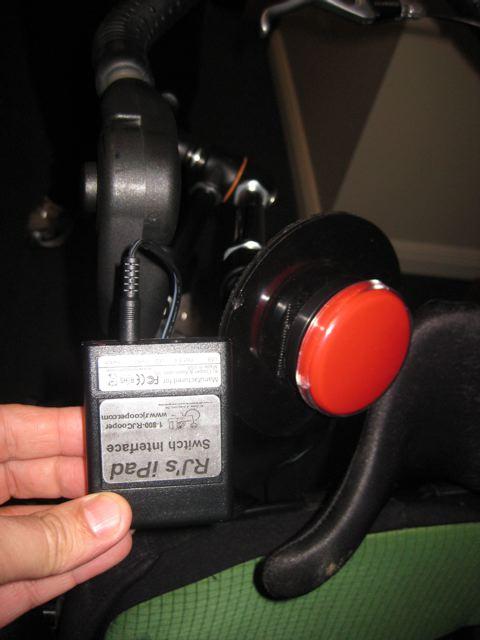 rj cooper ipad switch interface
