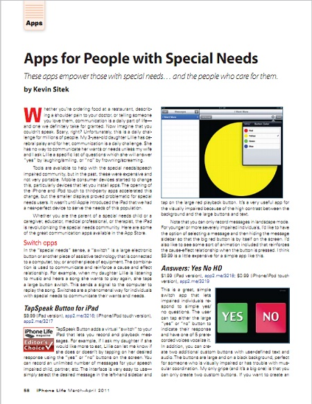 Special Needs Apps From November >> Apps For People With Special Needs Bridgingapps