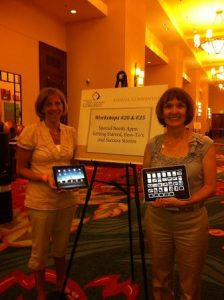 Cristen and Tricia at the National Down Syndrome Congress