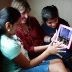 Ladies Using iPad