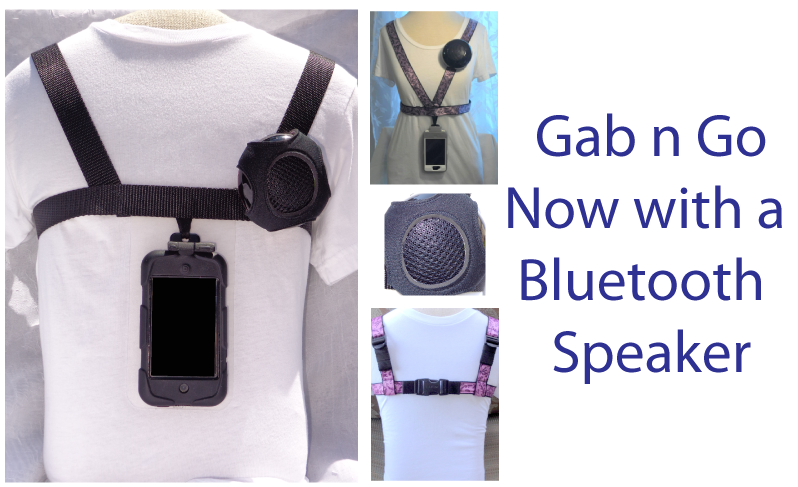 Special Needs Apps From November >> Gab n Go Harness with Bluetooth Speaker - BridgingApps