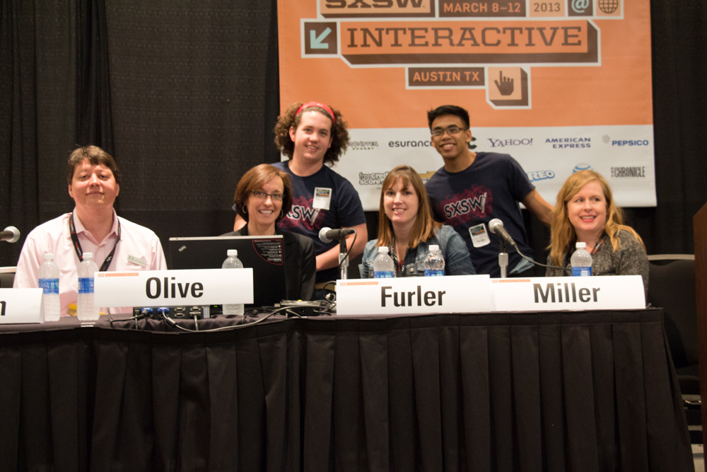 Picture of presenters at Apps for Autism SXSW 13