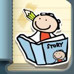 kid in story app