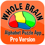 Whole Brain Alphabet App