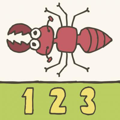 123 Smash- Bugs! App
