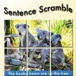 Sentence Scramble App
