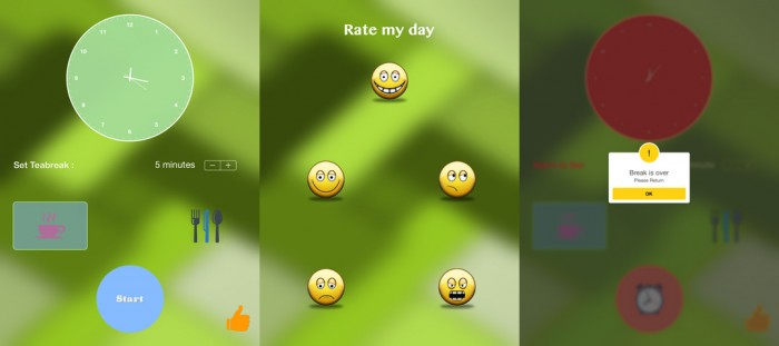 Reminder App Collage