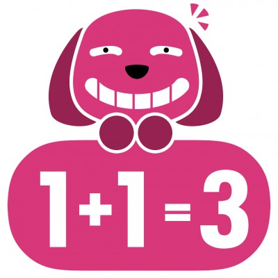 1+2=3 App