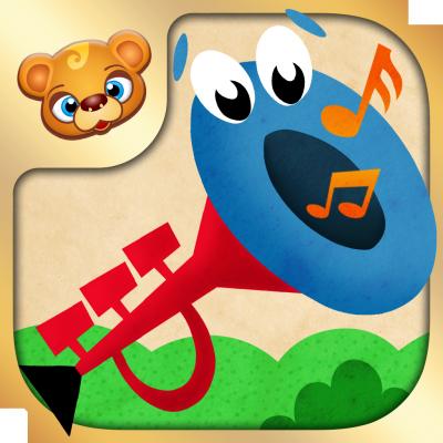 123 Kids Fun Baby Tunes App