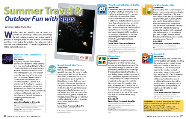 Summer Travel & Outdoor Fun with Apps
