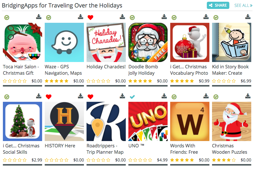 Holiday Travel Apps