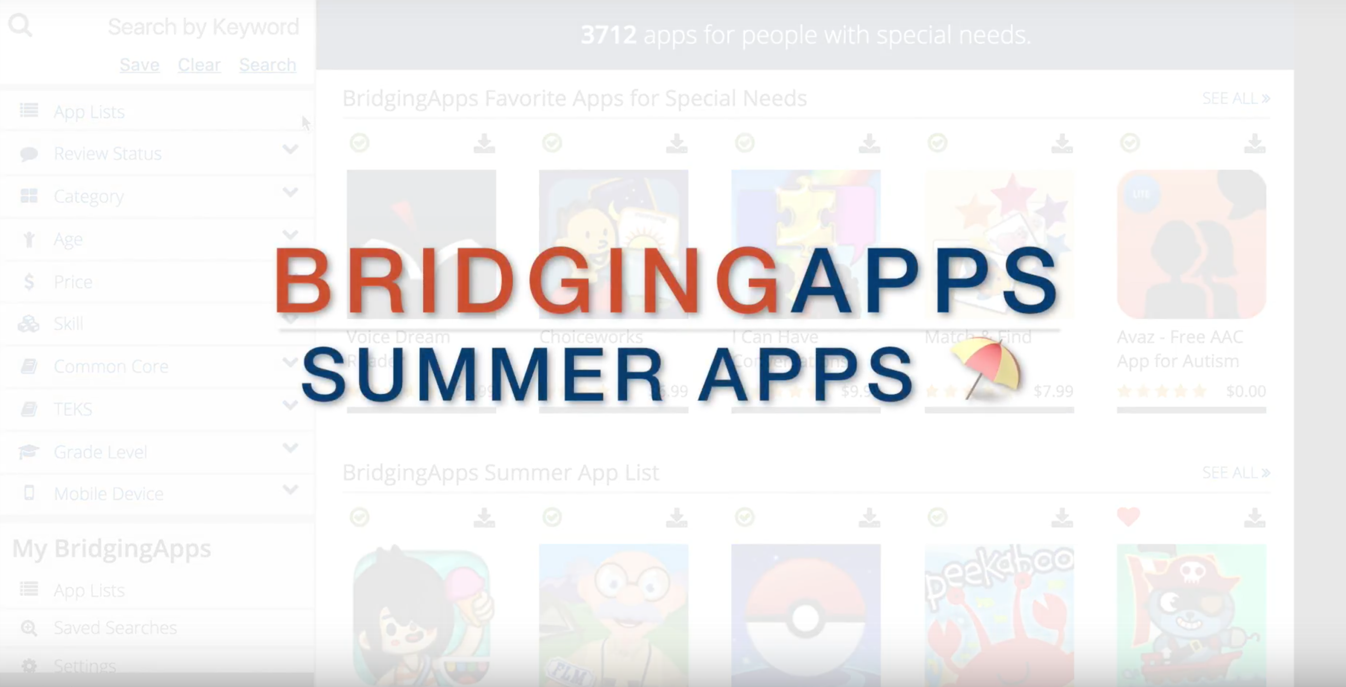Summer App Search Image