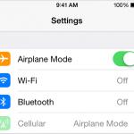 Airplane Mode Image