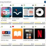 BridgingApps Using VoiceOver App List