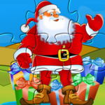 Puzzle for Santa claus- Christmas games for kids