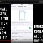 SOS Emergency Features iOS 11
