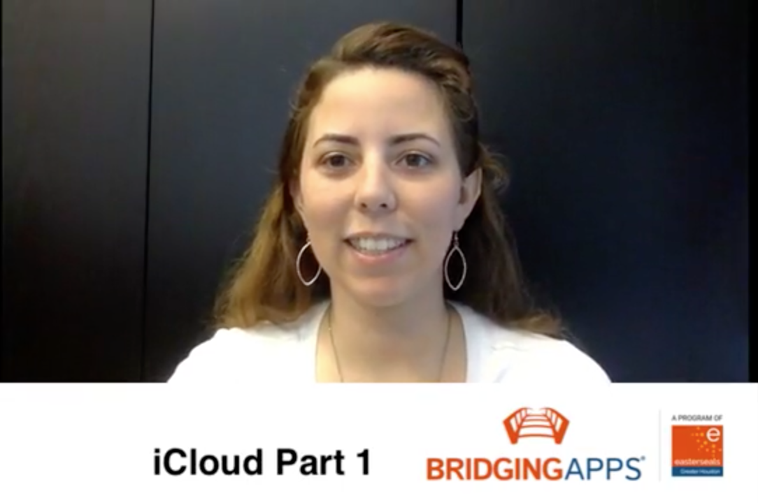 Jana iCloud Video Screenshot