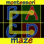 Montessori Alphabet Maze Free App