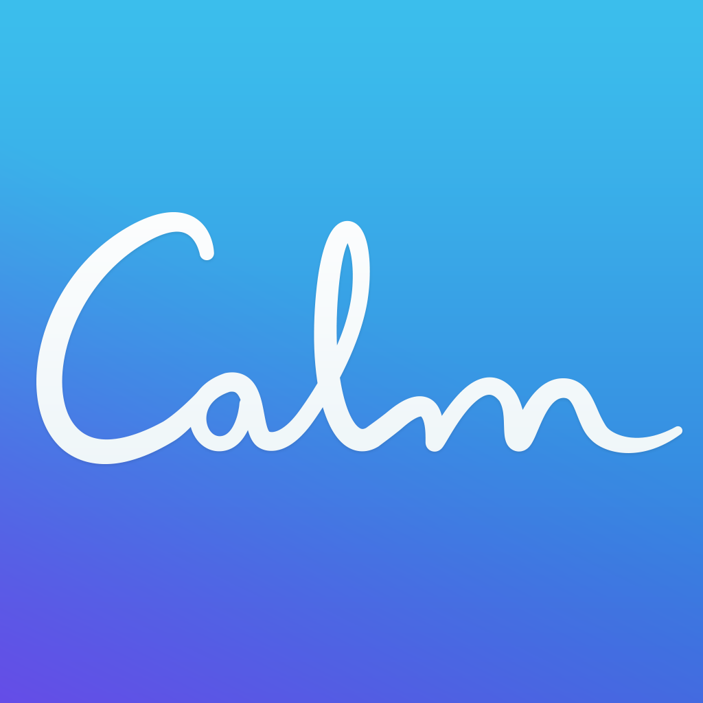 calm app icon