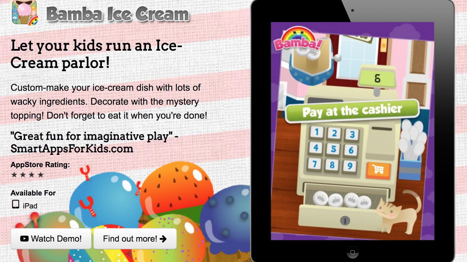 bamba ice cream
