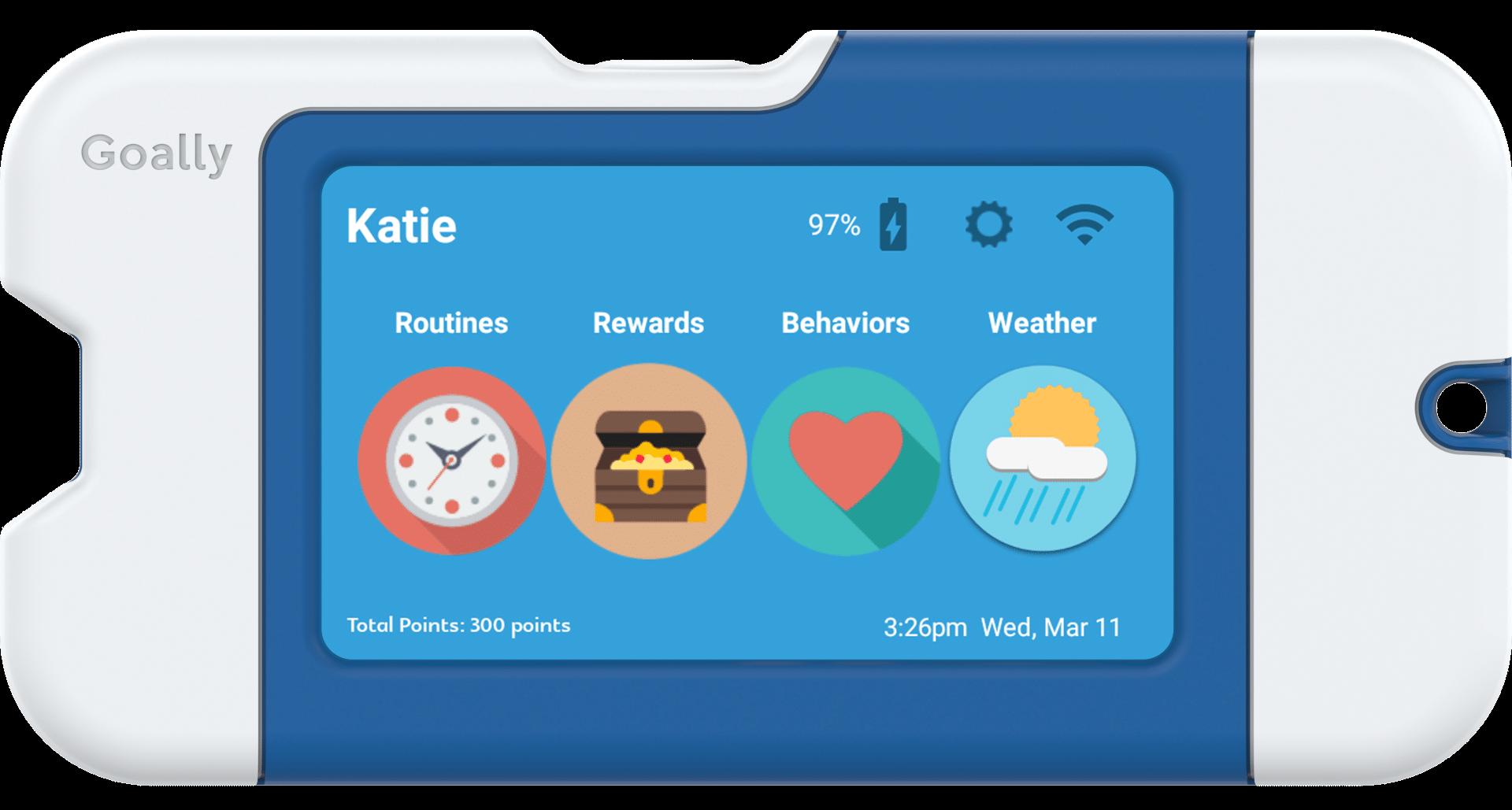 goally app graphic