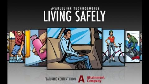 living safely app graphic